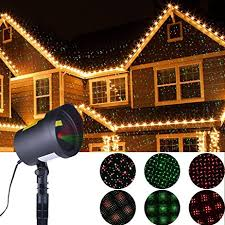amazon com xmas lights outdoor christmas projector star laser