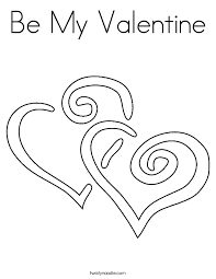valentine coloring twisty noodle