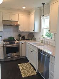 white kitchen cabinets countertop ideas get 20 white shaker kitchen cabinets ideas on without