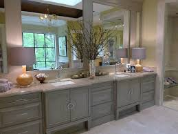 Bathroom Cabinet Color Ideas - cosy long bathroom vanity with home decoration for interior design