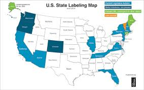 us map states not labeled ucbiotech org gmo labeling usa