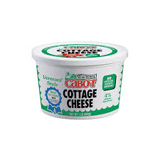 vermont style cottage cheese regular cabot creamery
