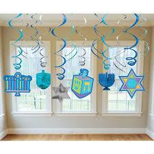 hanukkah party decorations hanukkah icon hanging decoration 12pc home kitchen
