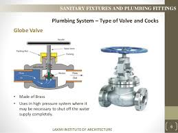 sanitary fixtures and plumbing fitting