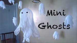 how to make floating ghosts youtube