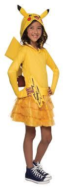 pikachu costume pikachu hoodie dress buycostumes