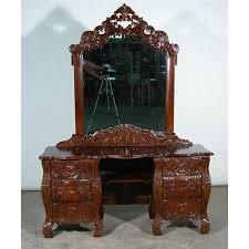 Vanity Dresser With Mirror Victorian Rococo Vanity Dresser With Mirror 1539953