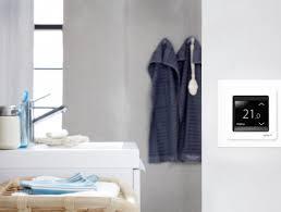 bathroom underfloor heating thermostat gaia climate solutions underfloor heating systems