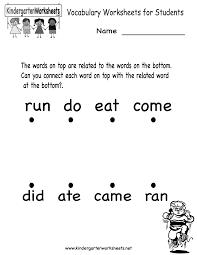 worksheet printable english worksheets for kindergarten grade kids