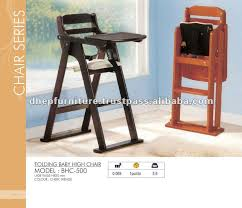 folding baby high chair wooden baby feeding chair buy baby