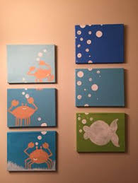 sea animals under the sea bathroom decor wash by lovelyfacedesigns