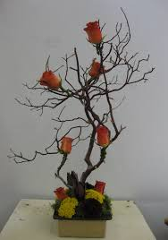 tree centerpiece stadium flowers