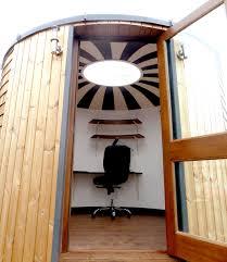 cool office design outdoor personal office pod interior decor