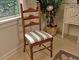 how to reupholster a seat pad seat pads room and recover chairs