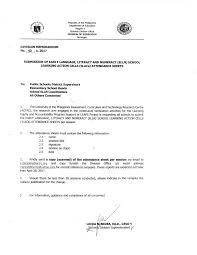 issuances u2013 deped sorsogon