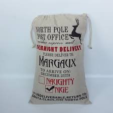 personalized santa sack and personalized santa sack storesixty