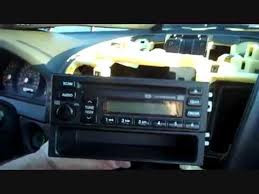 how to kia sorento car stereo removal 2003 2006 repalace repair