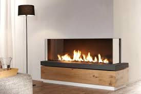 double sided gas log fire two corner fireplace insert inserts