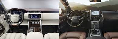 land cruiser car 2016 head to head 2016 land rover range rover vs 2016 toyota land