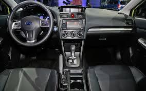 subaru crosstrek interior trunk subaru confirms performance concept xv crosstrek hybrid for new