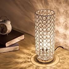 zeefo crystal table lamp nightstand decorative room desk lamp