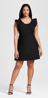 audi target black friday plus size ruffle sleeve sweater knit dress victoria beckham for
