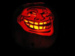 Meme Pumpkin - trollface meme pumpkin ipad hd wallpaper