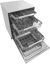 Stainless Steel Lg Dishwasher Lg Stainless Steel Built In Dishwasher Ldp6797st