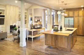 open floor plan kitchen ideas 10 floor plans with great kitchens builder magazine plans