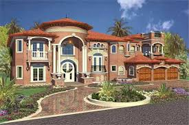 Luxury House Designs And Floor Plans - luxury home with 6 bdrms 6679 sq ft floor plan 107 1207