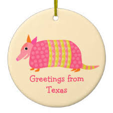 armadillo ornaments keepsake ornaments zazzle