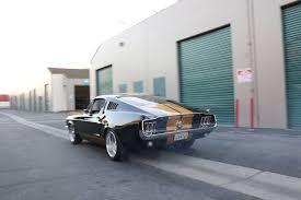 Black Fastback Mustang Chad Chambers U0027 1967 Mustang Fastback Rod Network