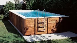 rivestimento in legno per piscine fuori terra prezzi e offerte delle piscine fuori terra