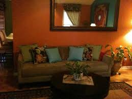 orange livingroom living room teal and orange living room peenmedia teal and