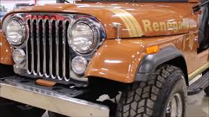 renegade jeep cj7 1980 jeep cj7 renegade youtube