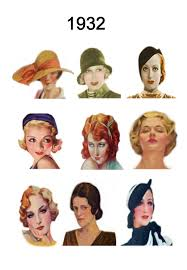 of the hairstyles images hat and hair styles fashion history 1930 1940