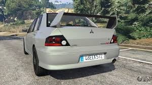 evo 8 spoiler mitsubishi lancer evolution viii mr for gta 5