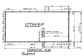 foundation floor plan ranch house foundation plan cross section these plans home small