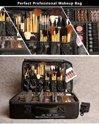 professional makeup storage professional cosmetic bag large capacity storage oxford
