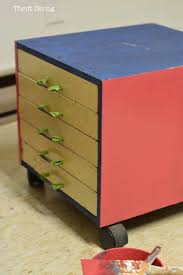 Pink Filing Cabinet Before Afters My Pretty Pink File Cabinets Thrift Diving