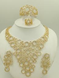 costume jewelry necklace sets images 2015 new fashion african dubai costume 18k gold plated jewelry jpg