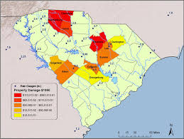map of beaufort county sc nws south carolina flood information