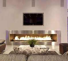 modern electric fireplace modern family room toronto by electric
