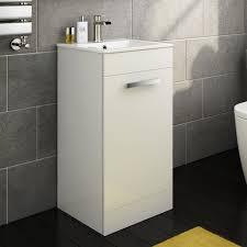 crosby toilet 400 avon floor standing slimline basin cabinet
