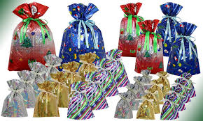 drawstring gift bags 30 drawstring gift bag set ebeez co uk