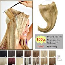 hair extension invisible wire remy hair extension wire headband crown extensions