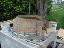Backyard Pizza Oven Kit backyards wonderful wood fired pizza ovens 45 diy oven kits