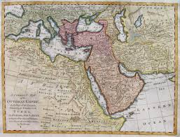 Ottoman Map Turkish Empire A Correct Map Of The Ottoman Empire Michael