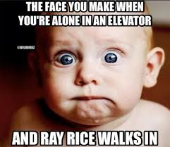 Ray Rice Memes - nfl memes on twitter when ray rice walks into an elevator http