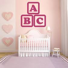 Alphabet Wall Decals For Nursery Abc Wall Sticker Alphabet Wall Decal Nursery Home Decor Ebay